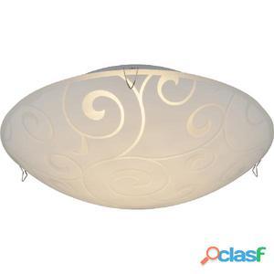 GLOBO Lámpara LED de techo FERDI vidrio 48267-8