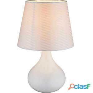 GLOBO Lámpara de mesa FREEDOM cerámica blanca 21650
