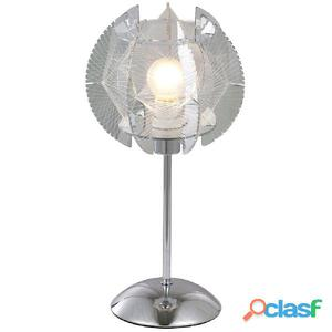 GLOBO Lámpara de mesa POLLUX acrílico cromo 21827