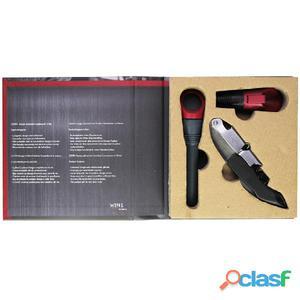 Gusta Kit de regalo accesorios vino Design 02200280