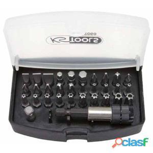 """KS Tools CLASSIC Juego de puntas 32 piezas 1/4"""" 911.2060"""