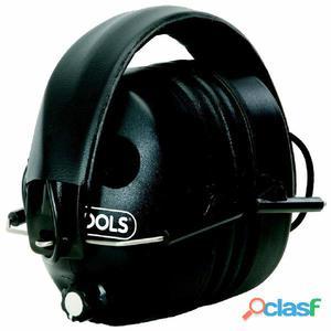 KS Tools Cascos de protección auditiva electrónicos negros
