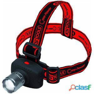 KS Tools Linterna de cabeza LED enfoque CREE Power 100 lumen