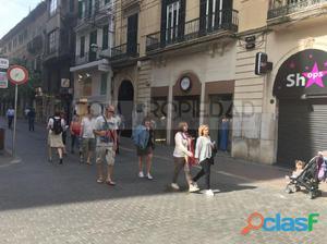 Local con 194 m2 en la mejor calle comercial de Palma de
