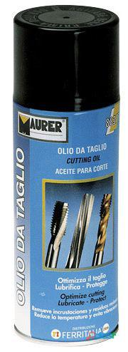 Maurer Spray Aceite Corte Fresa Y Torno 400 Ml.