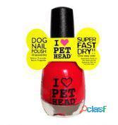 Pet Head Pet Head Dog Nail Polish Red Unidad Suelta