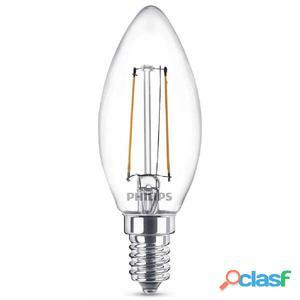 Philips Bombillas de vela LED 2 unidades Classic 25 W