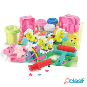 Playgo Set de unicornios brillantes plastilina 8765