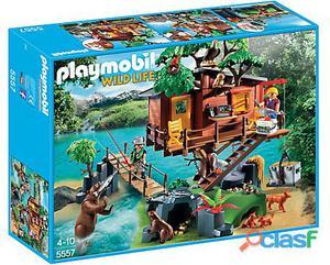 Playmobil Aventuras En La Casa De Árbol 5557