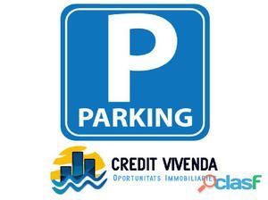 Plaza de parking en Salou centro.