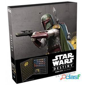 Star wars destiny. carpeta para dados boba fett