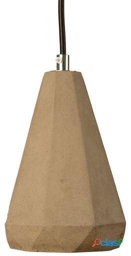 Superstudio Lámpara prismo cemento cemento