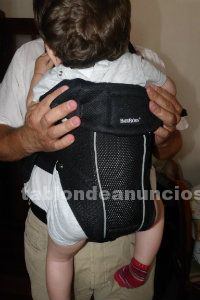Mochila portabebés babybjorn negra nueva