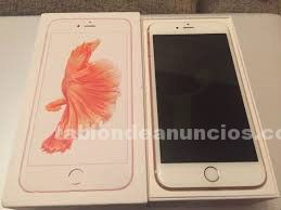 Iphone 6s plus, 64 gb, como nuevo, impecable