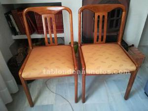 6 sillas de salón-comedor