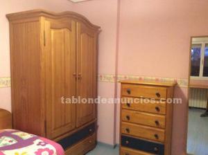 Dormitorio juvenil - infantil pino macizo