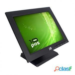 """10Pos Monitor Táctil 15"""" Ts-15 Negro Vesa"""