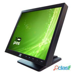 10Pos Monitor Táctil 17 Ts-17 Negro