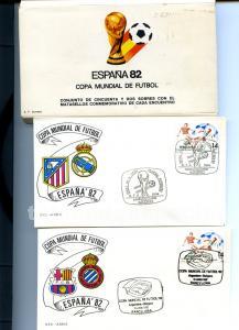95 sobres mundial de futbol españa