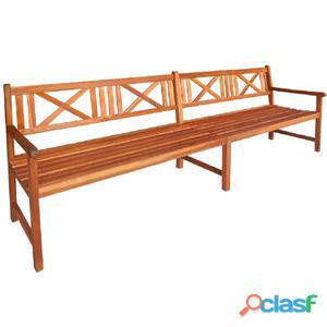 Banco de jardín madera acacia