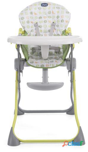 Chicco Trona Pocket Meal Green Apple para bebes 7.3 kg