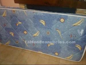 Colchón de muelles de 80cm