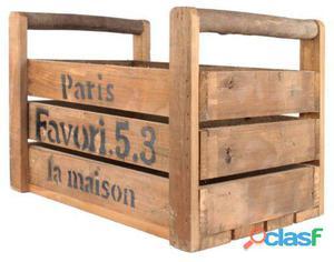 Decoración Vintage Caja Maison Pequeña 2 kg