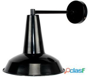 Decoración Vintage Lámpara De Pared Legger Color Negro 1.7