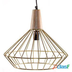 Decoración Vintage Lámpara De Techo Metropolitan Oro