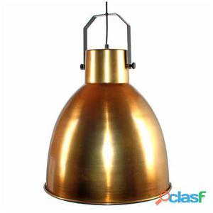 Decoración Vintage Lámpara Glasgow Mini Oro Metal 2.5 kg