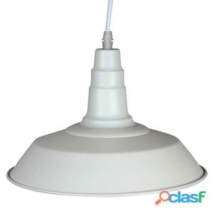 Decoración Vintage Lámpara Pekin Big Blanca Metal 3 kg