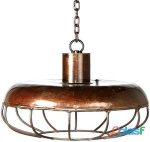 Decoración Vintage Lámpara Richie Metal Con Rejilla 2.5 kg