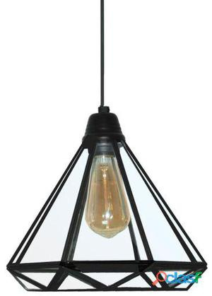 Decoración Vintage Lámpara Techo Albatros Color Negro 2 kg