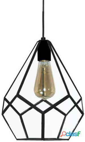 Decoración Vintage Lámpara Techo Colgante Pentagon Negro 2