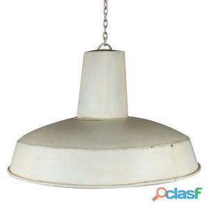 Decoración Vintage Lámpara Toscana Blanca De Hierro 5 kg