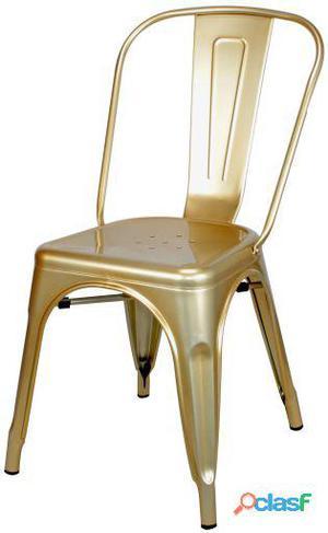 Decoración Vintage Silla Favorit Antique Brass Clara 6 kg