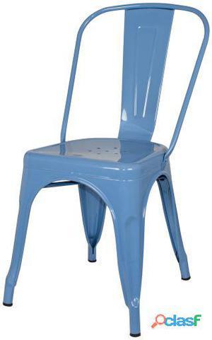 Decoración Vintage Silla Favorit Azul Ral Lacada 6 kg
