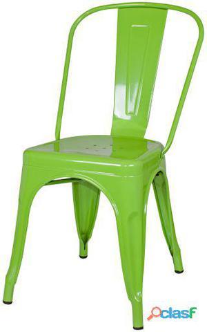 Decoración Vintage Silla Favorit Verde Greenery Pantone 6