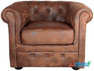 Decoración Vintage Sofá Denver 1 Pl Tapizado Fusión 20 kg