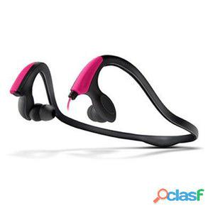 Energy Auriculares+Micro Running Two Neon Rosa