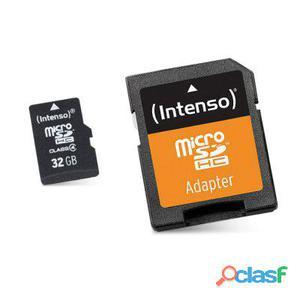Intenso 3413480 Micro Sd clase 10 32Gb c,adapt