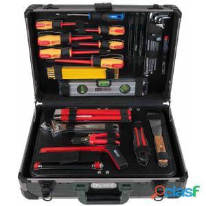 KS Tools Caja de herramientas electricista 128 pzas