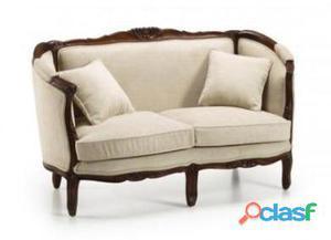 Moycor Sofa Vintage Louis Honey 2 Plazas Con Cojin