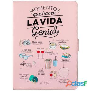 "Mr Wonderful Funda Tablet 10. 1"" Momentos Rosa"