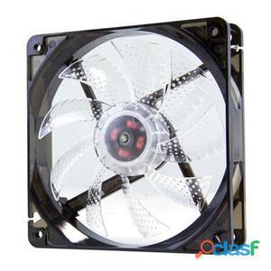 Nox Ventilador Caja Cool Fan 12cm Led Blanco
