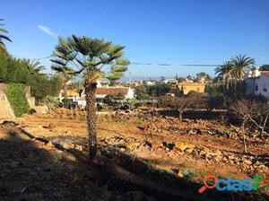 Parcela urbanizable en Denia (Alicante)