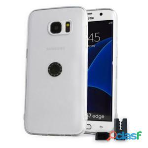 Stikgo Funda Tpu Carclip Samsung S7 Edge Transpare