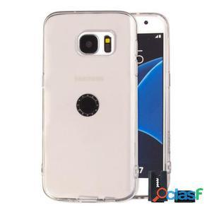 Stikgo Funda Tpu Carclip Samsung S7 Transparente