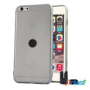 Stikgo Funda Tpu Carclip iPhone 6S Plus Gris