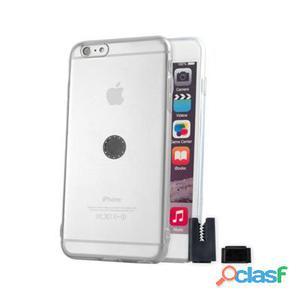 Stikgo Funda Tpu Carclip iPhone 6S Plus Transparen